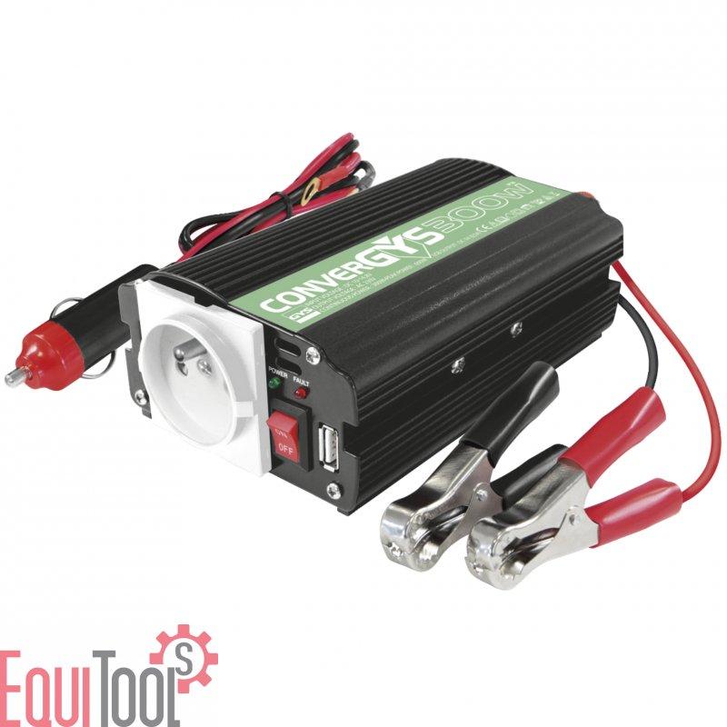mobiler stromversorger 300 w convergys 300 12 volt 230. Black Bedroom Furniture Sets. Home Design Ideas