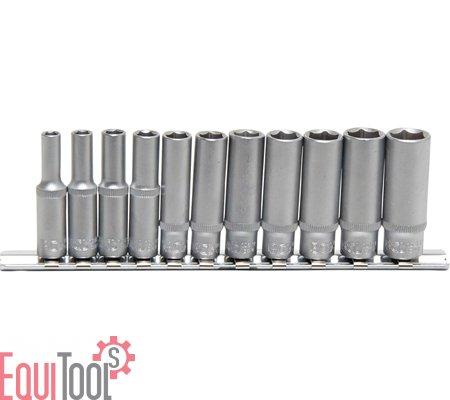 7 mm tief Steckschlüssel Werkzeug-Einsatz Pro Torque 6,3  1//4